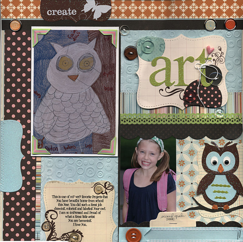 Layout of the day creative cafe glitter
