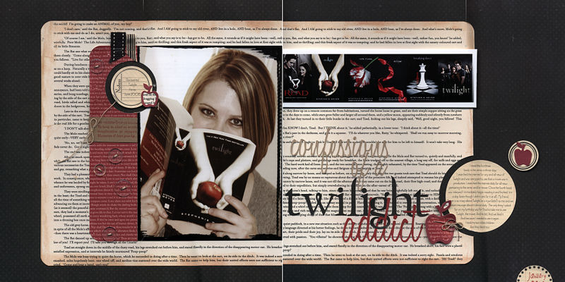 Twilight addict layout