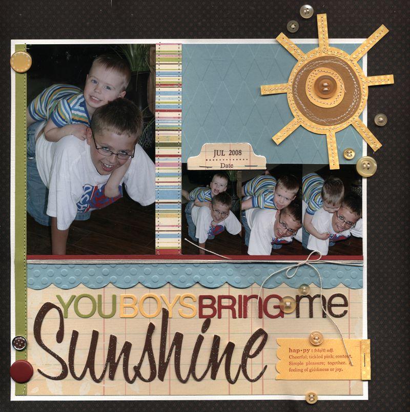 Sunshine layout march 2009