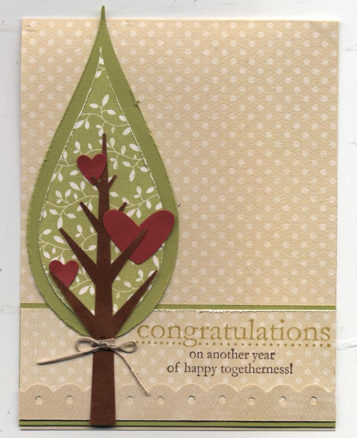 Congratulations card march 2009