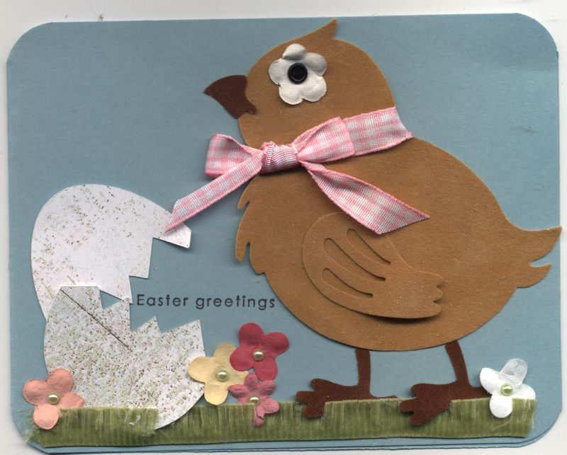 Easter greetings card march 2009