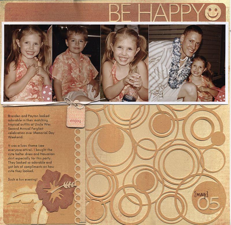 Be happy april 2009