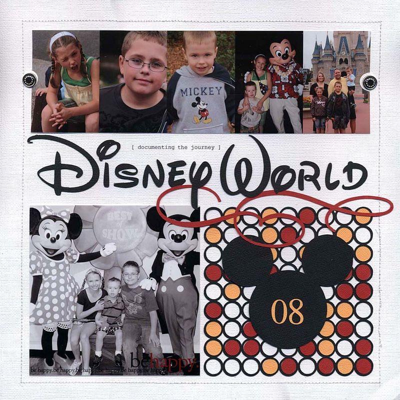 Disneyworld 08 title page