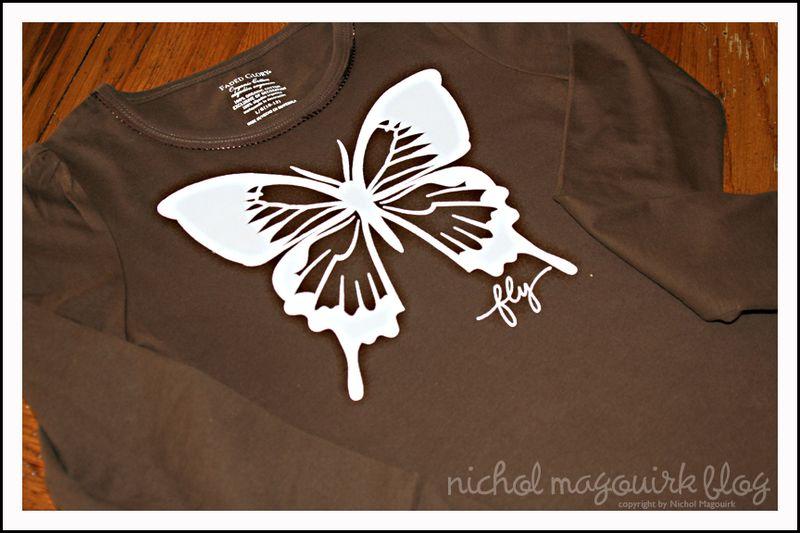 Butterfly tee 2