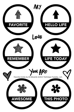 Technique-Tuesday-Favorite-Circles-Ali-Edwards-Clear-Stamps-Medium