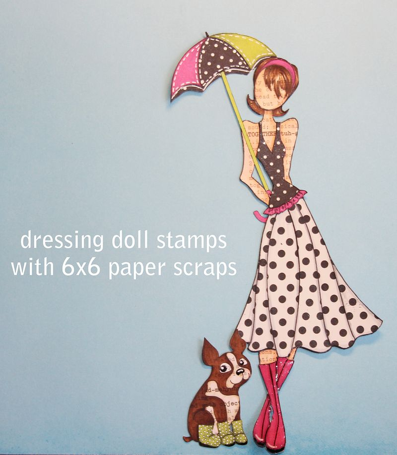 Dressingdollstamps