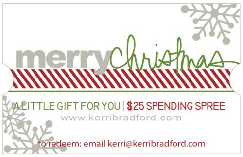 Gift card holiday 25 image