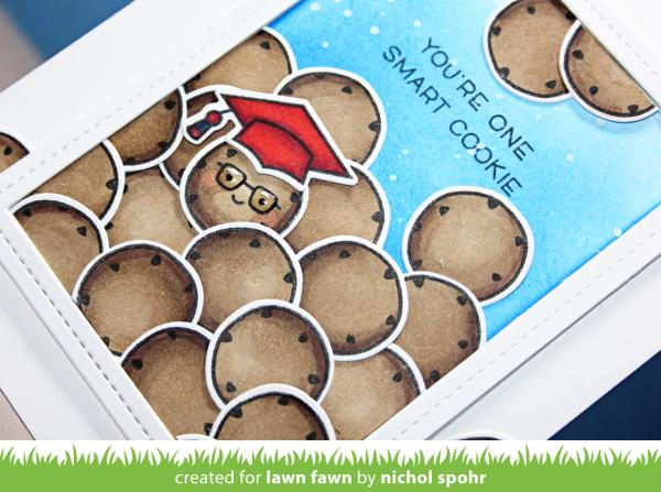 Lawn Fawn   Smart Cookie Card (Nichol Spohr LLC)