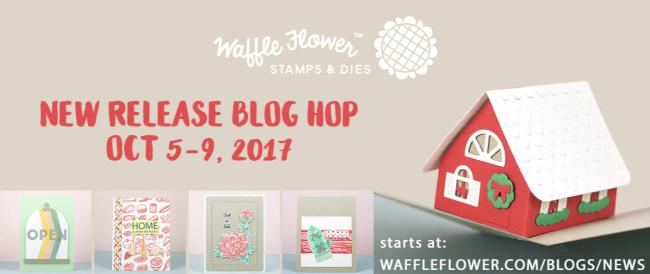 Waffle Flower 201710 Hop Badge
