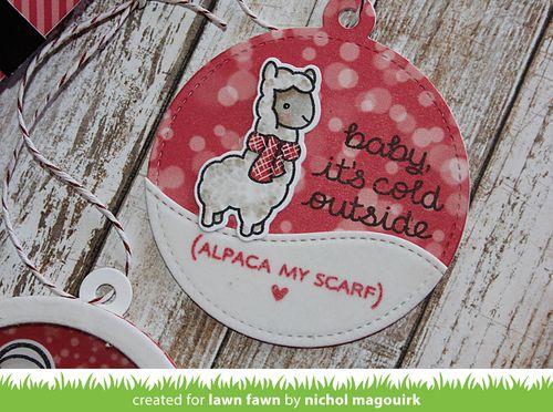SantaBellyAlpacaStitchedCircleTags_NicholMagouirk2