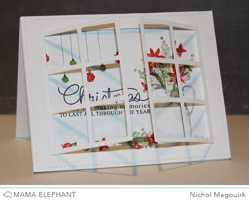 mama elephant | design blog: Peek A Frame with Nichol!