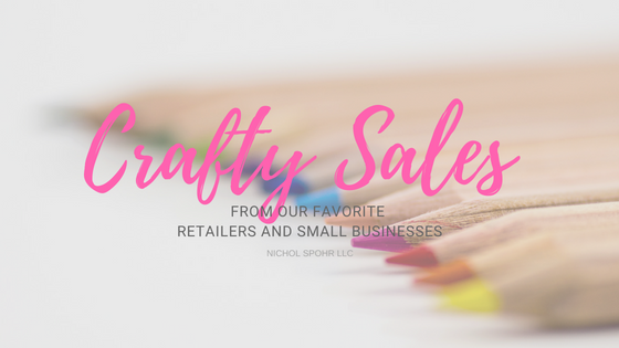 Crafty Sales - Blog Banner