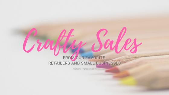 Crafty Sales - Blog Banner